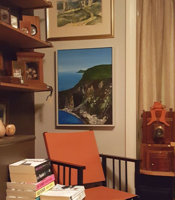 Progo Cliffs in its new home