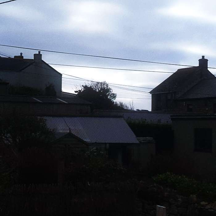 View from artist's studio in St Just