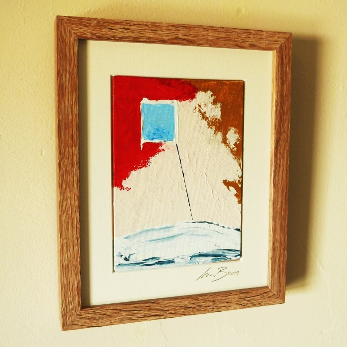 Beach Day - framed