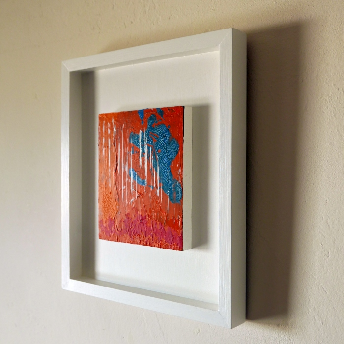 Dancing With Fire - framed