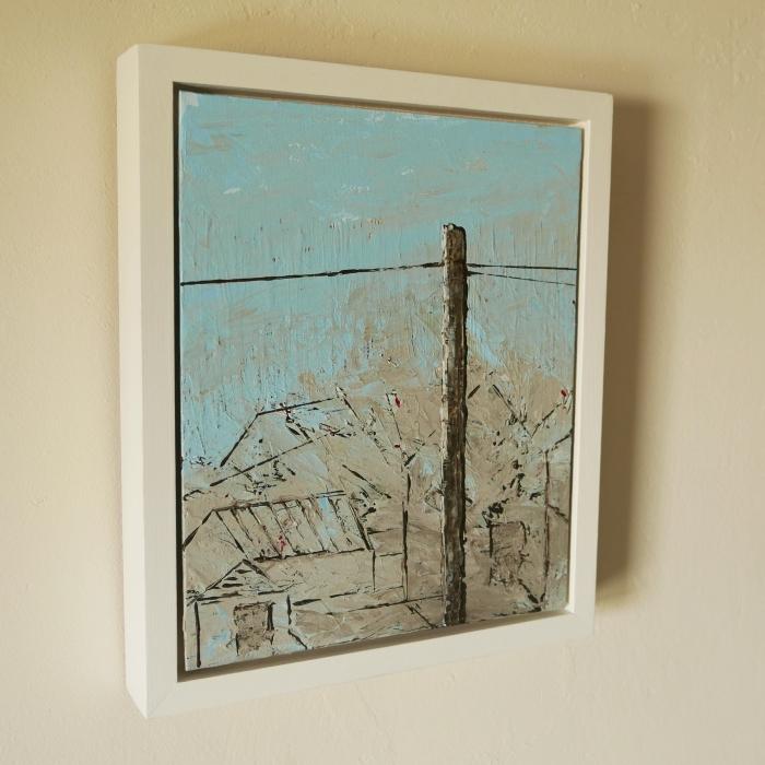 Sheds, Gables, Fog, St Just - framed
