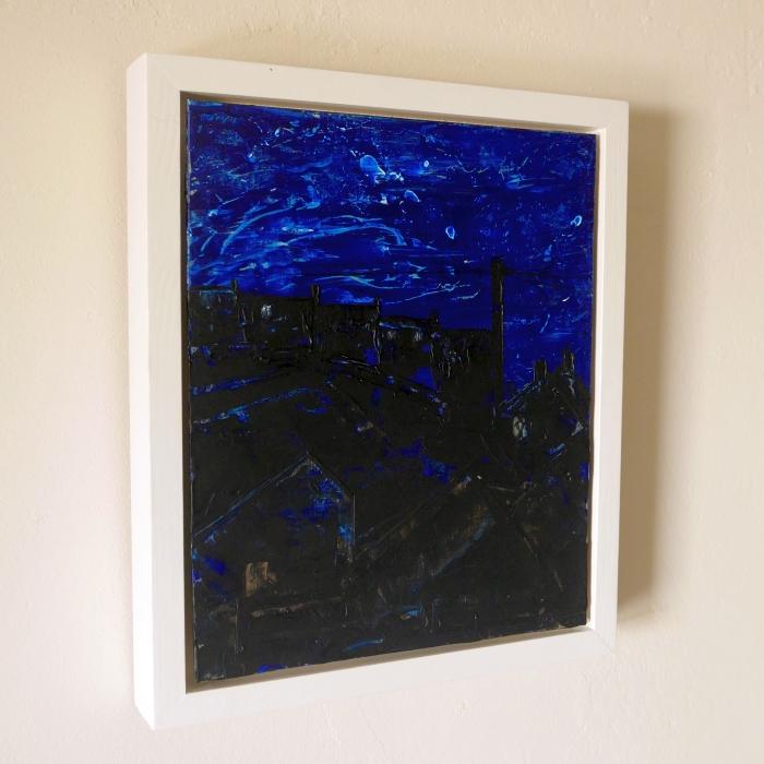 Starry Night, St Just - framed