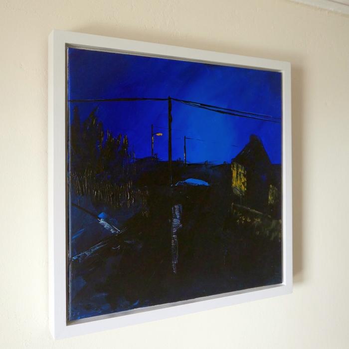 Streetlight Dusk framed