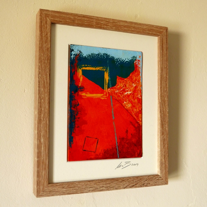 Sunny Spot - framed