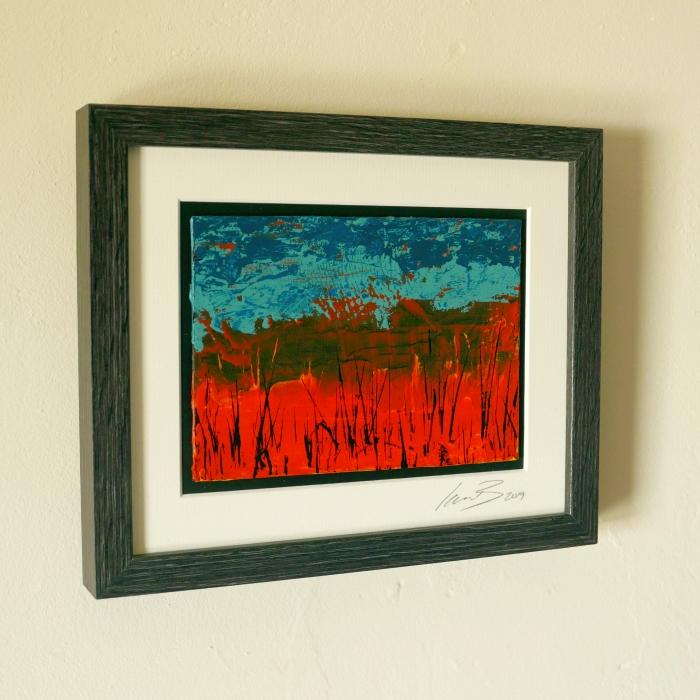 Swamp Thing - framed